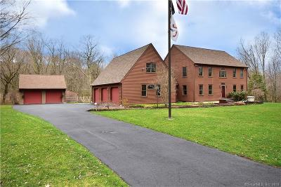 Tolland Single Family Home For Sale: 360 Gehring Road