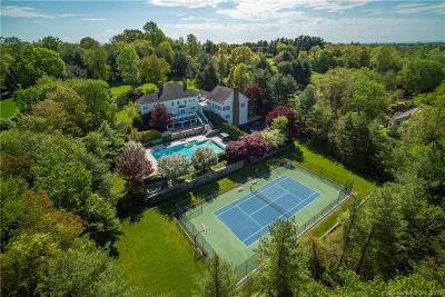 Darien, Easton, Fairfield, New Canaan, New Fairfield, Newtown, Norwalk, Redding, Ridgefield, Shelton, Stamford, Trumbull, Westport, Beacon Falls, Branford, Guilford, Milford, Southbury, West Haven Single Family Home For Sale: 1054 Oenoke Ridge