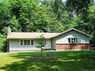 Rocky Hill Single Family Home For Sale: 201 Ten Rod Highway