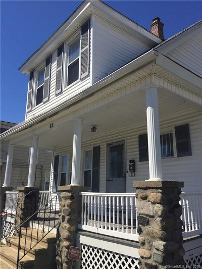 Waterbury Single Family Home For Sale: 33 Ridgefield Avenue