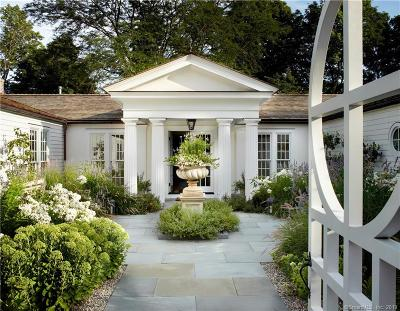 New Canaan Single Family Home For Sale: 440 Wahackme Road