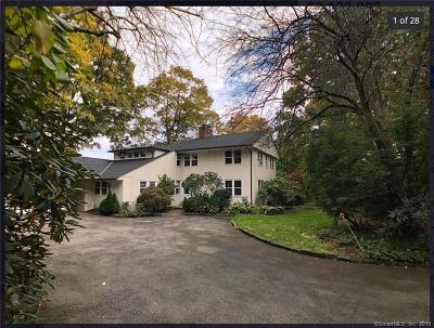 Greenwich CT Single Family Home For Sale: $2,100,000