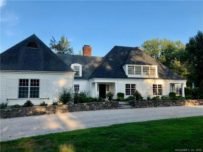 Darien Single Family Home For Sale: 860 Hollow Tree Ridge Road