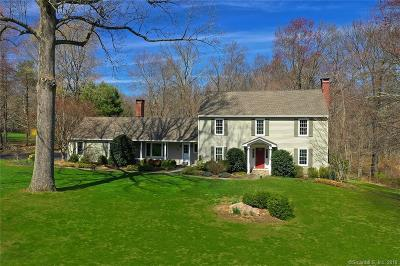 Fairfield Single Family Home For Sale: 100 Hemlock Hills Road North