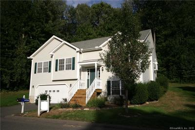 Tolland Single Family Home For Sale: 43 Belvedere Drive