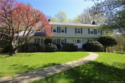 New Canaan Single Family Home For Sale: 265 Spring Water Lane