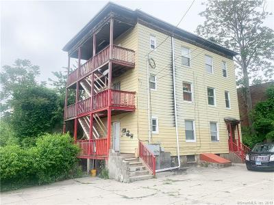 Waterbury Multi Family Home For Sale: 21 1/2 High Street