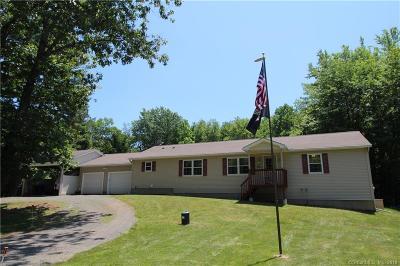 East Windsor Single Family Home For Sale: 62 Oak Street Extension