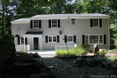 Ridgefield Single Family Home For Sale: 22 Linden Road
