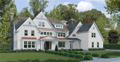 New Canaan CT Single Family Home For Sale: $3,995,000