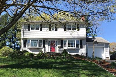 Wethersfield Single Family Home For Sale: 71 Coppermill Road