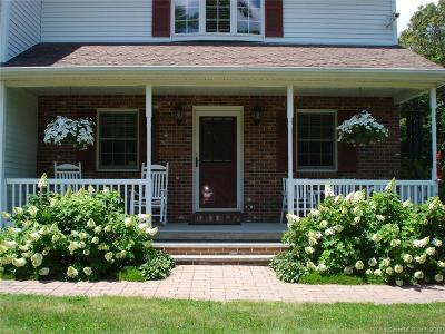 Norwich Single Family Home For Sale: 638 Scotland Road