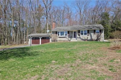 Suffield Single Family Home For Sale: 1250 Copper Hill Road