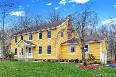 Ridgefield Single Family Home For Sale: 263 Old Sib Road