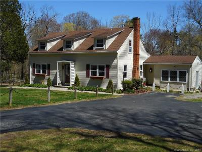 Pomfret Single Family Home For Sale: 313 Brooklyn Road