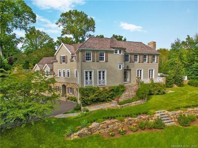 Darien Single Family Home For Sale: 2 Homewood Lane