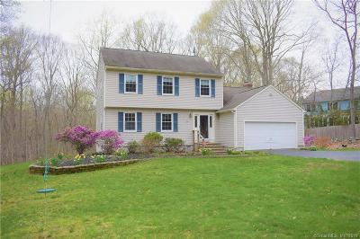 Ledyard Single Family Home For Sale: 24 Hyde Park Drive