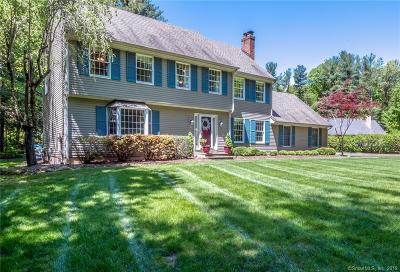 Simsbury Single Family Home For Sale: 369 West Mountain Road