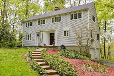 Ridgefield Single Family Home For Sale: 346 Danbury Road