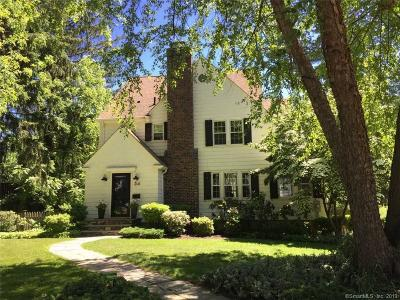 West Hartford Single Family Home For Sale: 34 Garfield Road