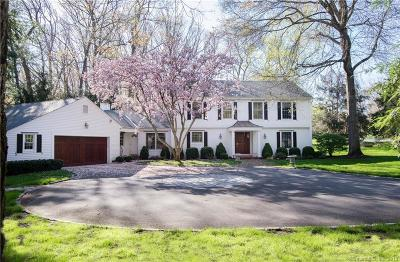 Stamford Single Family Home For Sale: 291 Chestnut Hill Road
