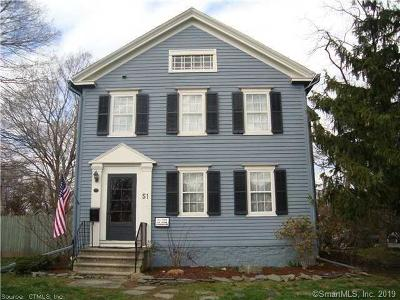 Milford Single Family Home For Sale: 51 Housatonic Avenue