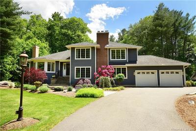 Tolland Single Family Home For Sale: 184 Slater Road