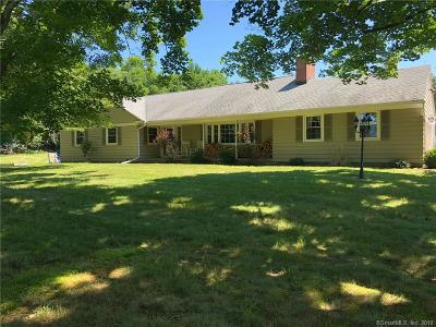Harwinton Single Family Home For Sale: 6 Village Lane