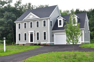 Suffield Single Family Home For Sale: 7 Hidden Way