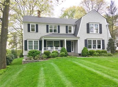 Darien Single Family Home For Sale: 37 Hillside Avenue