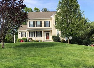 Avon Single Family Home For Sale: 3 Churchill Place