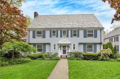 West Hartford Single Family Home For Sale: 103 Walbridge Road