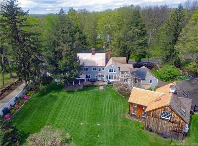 Wilton Single Family Home For Sale: 95 Grumman Hill Road