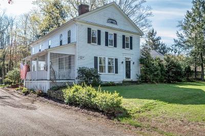 Simsbury Single Family Home For Sale: 298 Hopmeadow Street