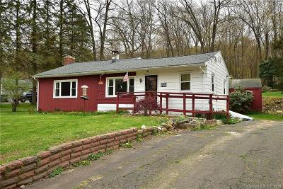 Tolland Single Family Home For Sale: 262 Crystal Lake Road