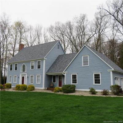Tolland Single Family Home For Sale: 144 Pine Hill Road