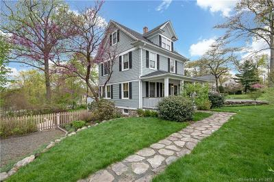 Darien Single Family Home For Sale: 227 Noroton Avenue