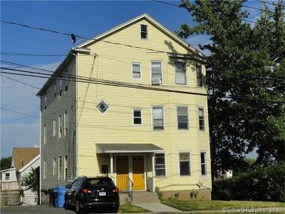 New Britain Multi Family Home For Sale: 535 Burritt Street