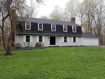 Woodbridge Single Family Home For Sale: 21 Wolf Tree Drive