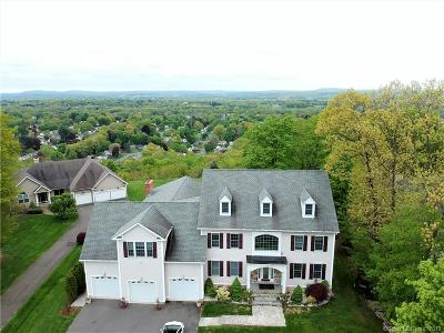 Newington Single Family Home For Sale: 125 Cedarwood Lane