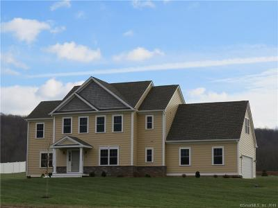 Southington Single Family Home For Sale: 2 Lacourse Pond Estates; Lot 2