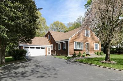 Fairfield Single Family Home For Sale: 1486 Round Hill Road