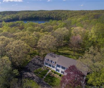 Ridgefield Single Family Home For Sale: 194 Old West Mountain Road