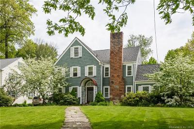 West Hartford Single Family Home For Sale: 46 Arlington Road