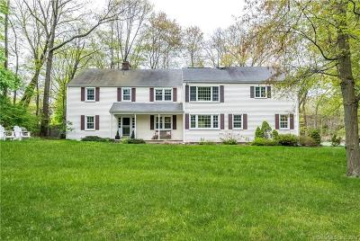 Darien Single Family Home For Sale: 22 Wakeman Road