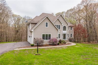 Glastonbury Single Family Home For Sale: 217 Old Farms Road
