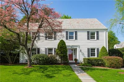 West Hartford Single Family Home For Sale: 46 Mountain View Drive
