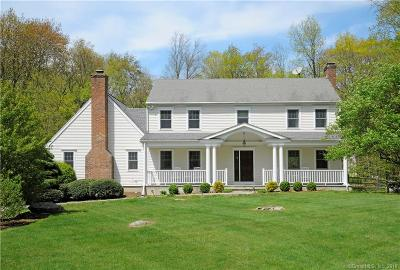 Wilton Single Family Home For Sale: 42 Breeds Hill Place