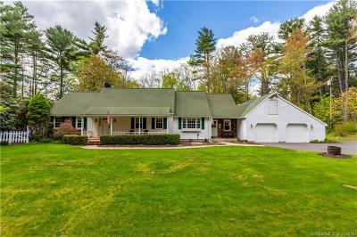 Tolland Single Family Home For Sale: 64 Webber Road