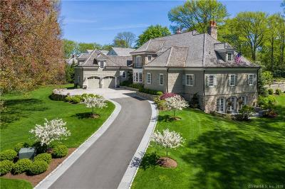 Darien, Easton, Fairfield, New Canaan, New Fairfield, Newtown, Norwalk, Redding, Ridgefield, Shelton, Stamford, Trumbull, Westport, Beacon Falls, Branford, Guilford, Milford, Southbury, West Haven Single Family Home For Sale: 9 Tokeneke 9b Trail